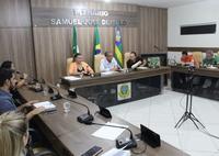 Prefeito Flávio de Beroí (MDB)Prefeito Flávio de Beroí (MDB) realiza leitura da mensagem anual à Câmara Municipal.