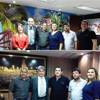 Vereadores realizam visita à Assembléia Legislativa do Rio Grande do Norte